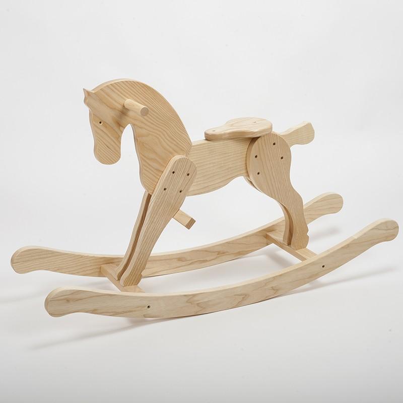 cheval bascule en bois massif de fr ne fabrication. Black Bedroom Furniture Sets. Home Design Ideas