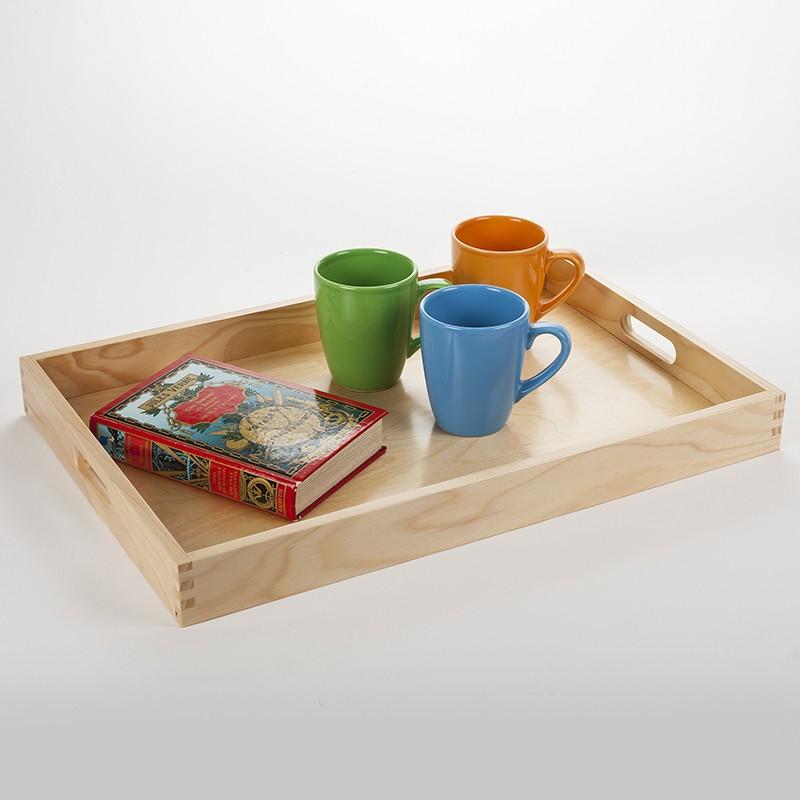 plateau servir en bois massif aux lignes fluides et design fabrication fran aise dans notre. Black Bedroom Furniture Sets. Home Design Ideas