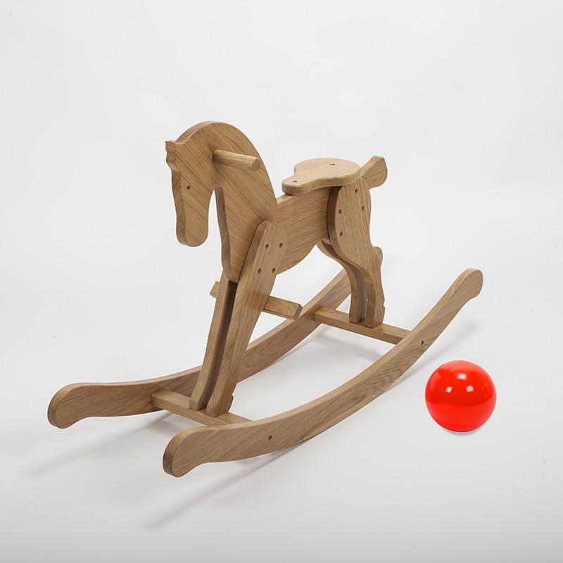 cheval bascule en bois massif de ch ne fabrication fran aise dans notre atelier. Black Bedroom Furniture Sets. Home Design Ideas