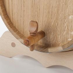 Tonneau en bois 10 Litres