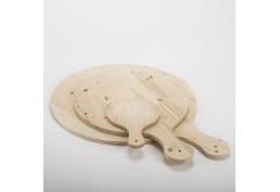 Kit 3 planches en bois pour brunch (22,5 & 48 & 55 cm)