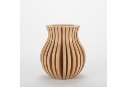 Vase Cache Cache bois classique Merisier