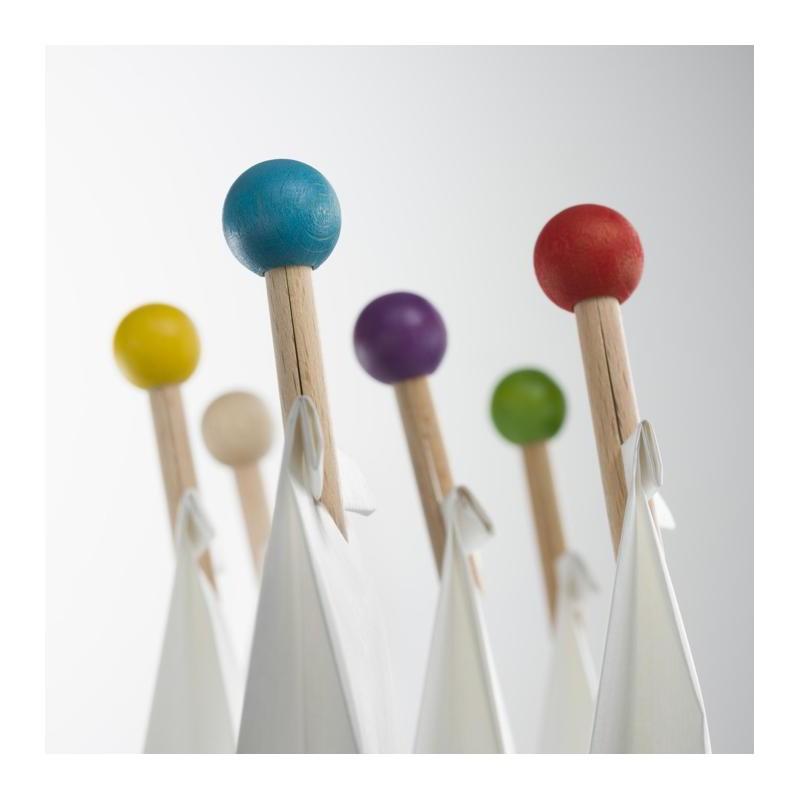 Pince-Mi couleur boîte de 6