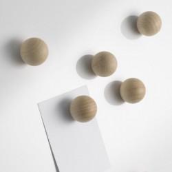 6 Boules magnet naturels