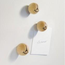 6 boules magnétiques Eiffel