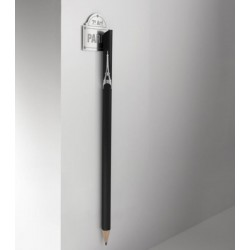 Crayon magnétique Eiffel et plaque