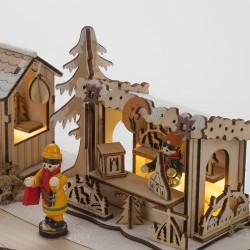 Lampe marché de Noël