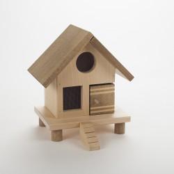 Poulailler en bois (H 20 cm)