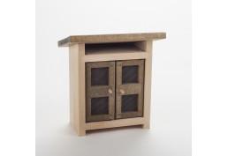 Clapier en bois (H18 cm)