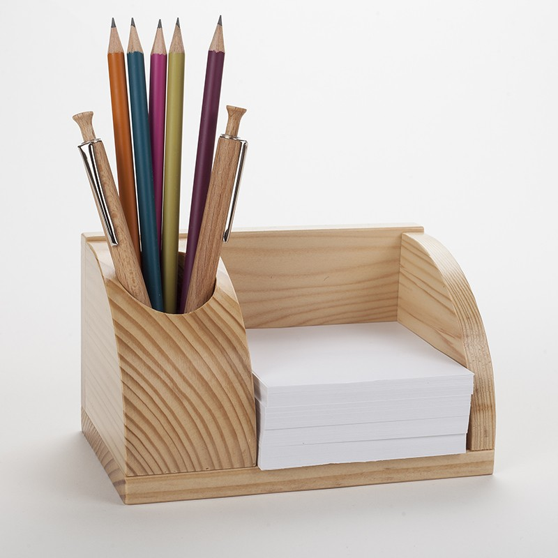 petit organisateur de bureau en bois porte cartes et. Black Bedroom Furniture Sets. Home Design Ideas