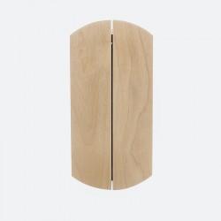 Petite armoire à clefs classique bois verni