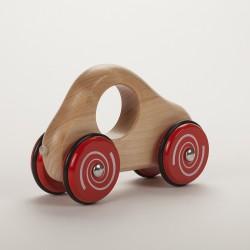 Voiture en bois 17,5 cm