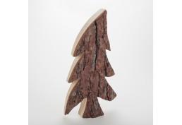 Sapin bois & écorce asymétrique (40 cm)