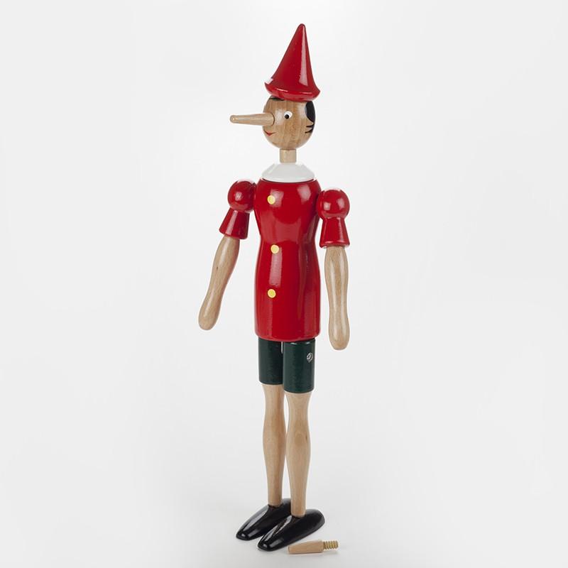 Pinocchio en bois 16 cm