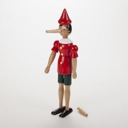 Pinocchio en bois 31 cm