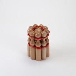 Quilles en bois de 24 cm