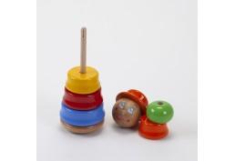 jouet empilement et culbuto