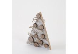 Sapin blanc déco de Noël 35 cm