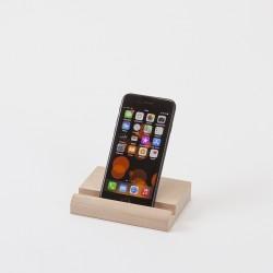 grand support en bois pour smartphone