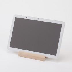 grand support en bois pour tablette