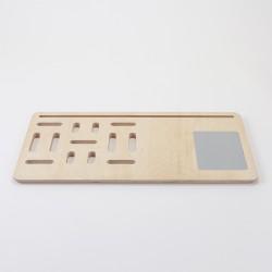 Support en bois pour ordinateur ou tablette